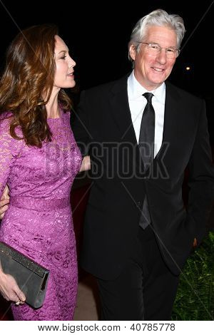LOS ANGELES - JAN 5:  Diane Lane, Richard Gere arrives at the 2013 Palm Springs International Film Festival Gala  at Palm Springs Convention Center on January 5, 2013 in Palm Springs, CA