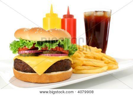 Cheeseburger Meal