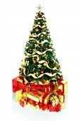 Постер, плакат: Рождественская елка и подарки