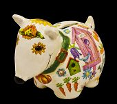 pic of decoupage  - toy  - JPG