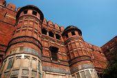 Agra Fort - Famous Landmark, Unesco World Heritage Site Located In  Uttar Pradesh, India poster