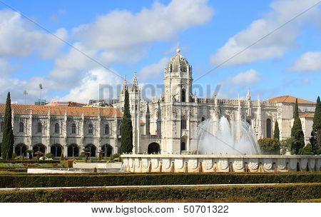 The Mosteiro Dos Jeronimos
