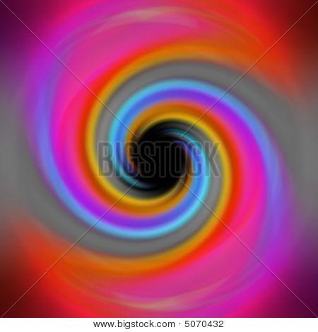 Rainbow Twirl Vortex