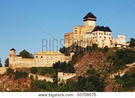 Castle Trencin, Slovakia
