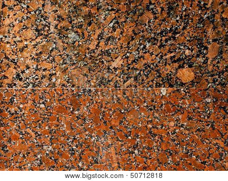 Granite Structure Of Two Different Colors