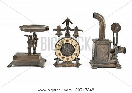 Three Antique Object