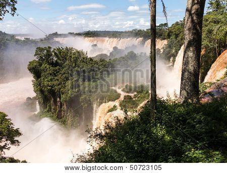 River Leading To Iguassu Falls
