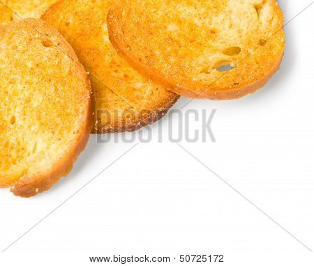 Toasts Isolated