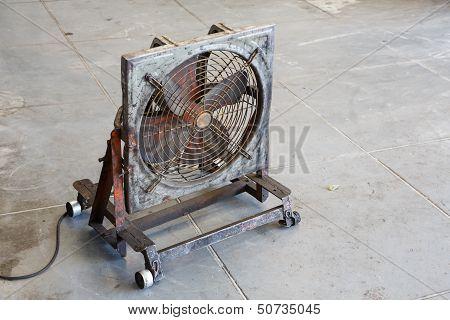 Fan In Garage