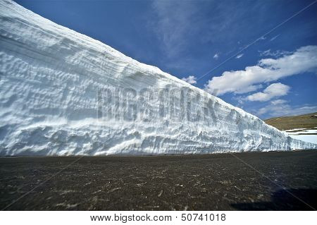Large Snowfields