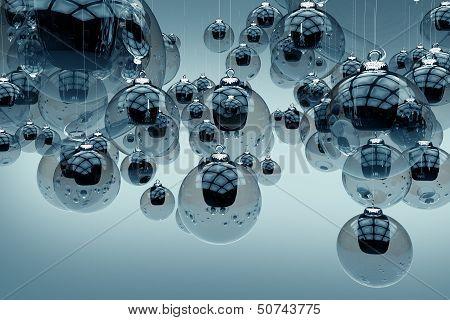 Glassy Ornaments