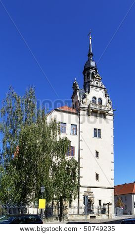 Town Hall Of The City Of Bernburg, Germany