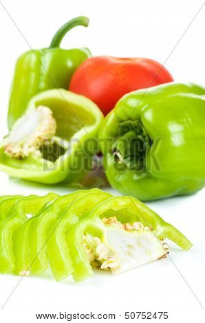 Bell Pepper And Tomato