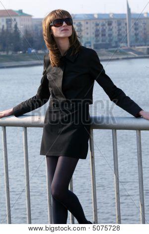 Woman On The Bridge