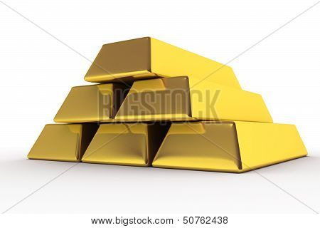 Goldbars 3D
