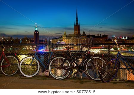 Bikes In Stockholm