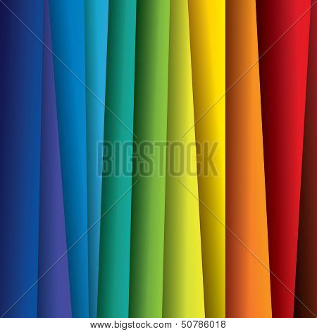 Abstract Colorful Paper Or Sheets Background (backdrop) - Vector Graphic