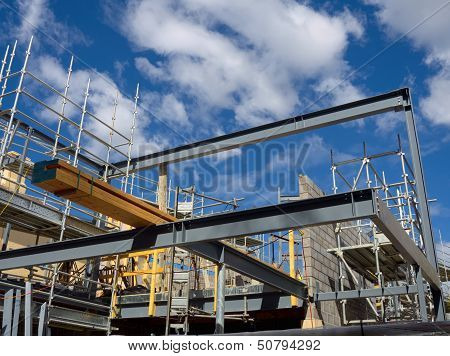 Steel Frame House Construction