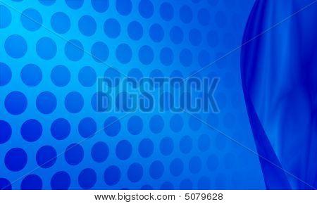 Blue Dots Background