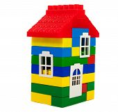 Toy Colorful  House