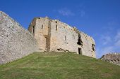 foto of bailey  - considered one of the finest examples of a motte and bailey castle in scotland - JPG