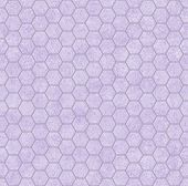 Purple Honey Comb Shape Fabric Background
