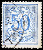 Belgian Post Stamp