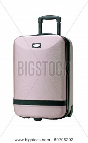 Convenient purple luggage