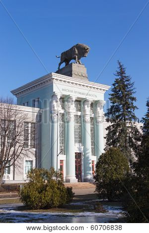 Building Of The Meat Industry In Moscow Vvc