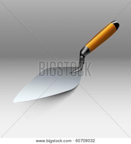 Trowel Tool Illustration