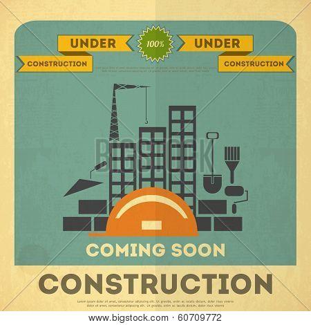 Under Construction Poster Design