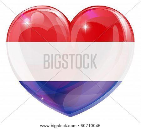Netherlands Love Heart