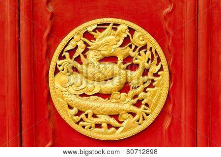 Imperial Dragons In Forbidden City, Shenyang China