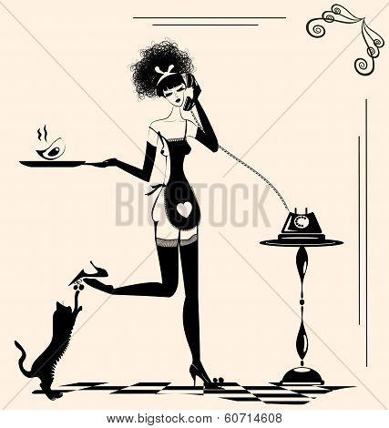 playful housewife