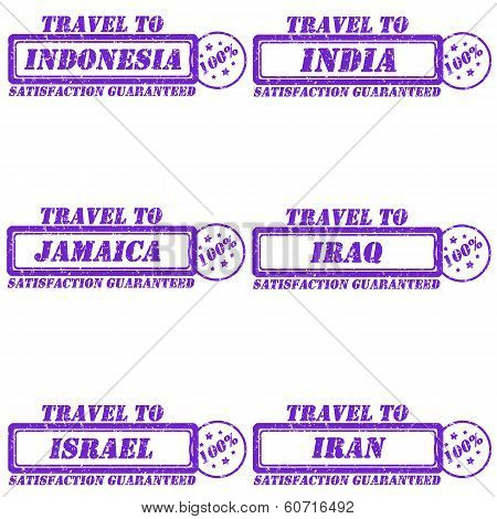 Travel To Stamps