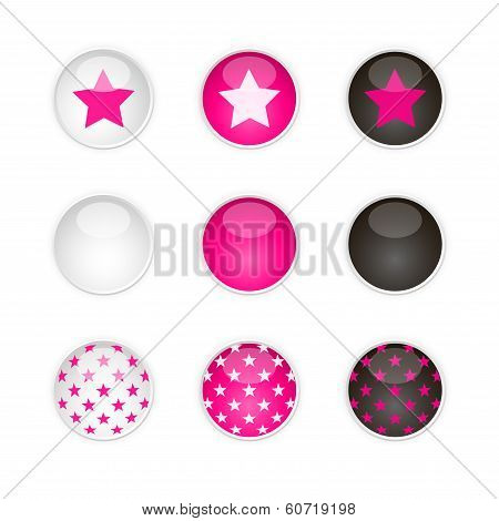 Star's Buttons