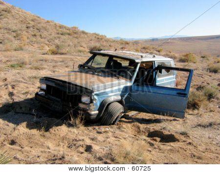 Stolen Wrecked SUV