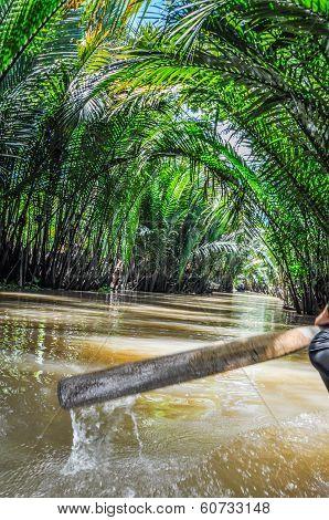 Mekong Delta, An Giang, Vietnam