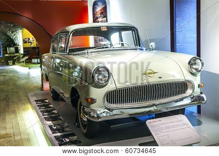 Famous Opel Record In The Museum