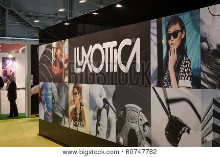 Luxottica Stand At Mido 2014 In Milan, Italy