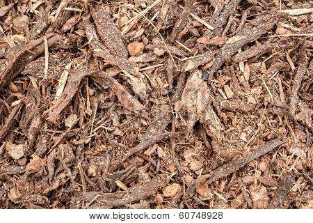 Garden Bark Mulch Texture