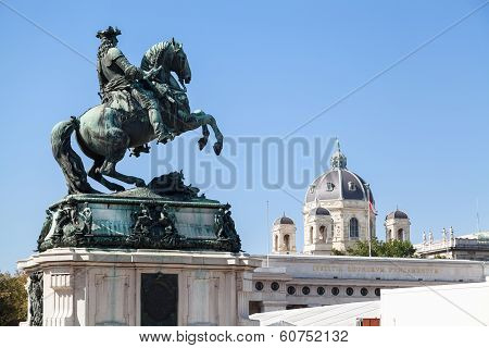 Statue Of Prince Eugene Of Savoy