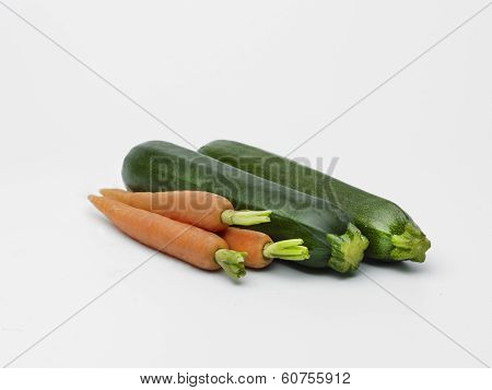 Courgettes And Carotts
