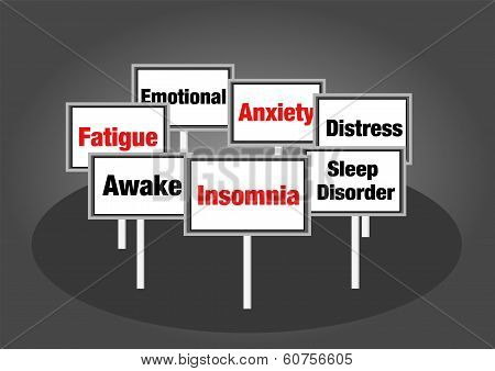 Insomnia signs