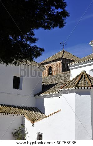 Andalucian Church And Village Spain