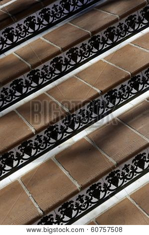 Ceramic Tiled Steps
