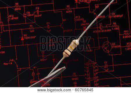 Electronic Resistor