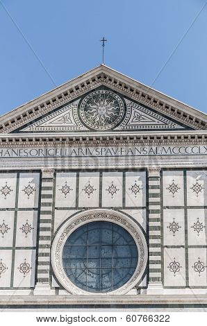 Santa Maria Novella Church In Florence, Italy