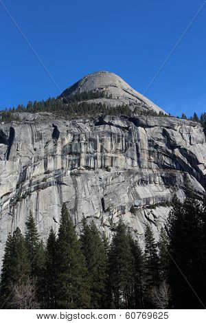 North Dome Landscape Yosemite