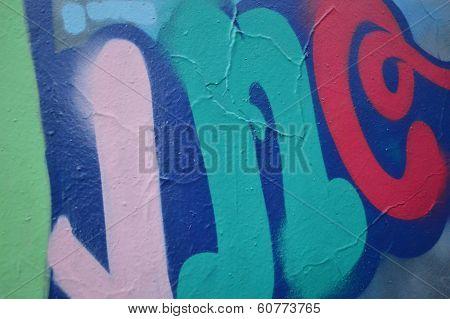 Grafiti on a wall